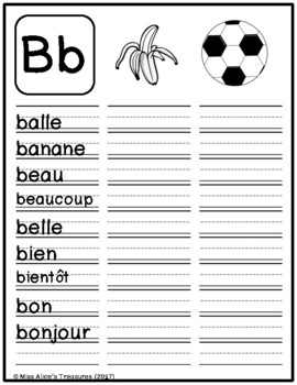 Mon Dictionnaire Personnel -- My Personal Dictionary