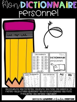 Mon Dictionnaire Personnel