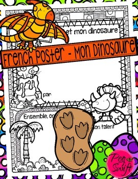 Mon Dinosaure - French Poster