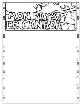Mon Pays, Le Canada