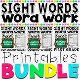 Mon-STAR Sight Words Supreme NO PREP Printables Bundle