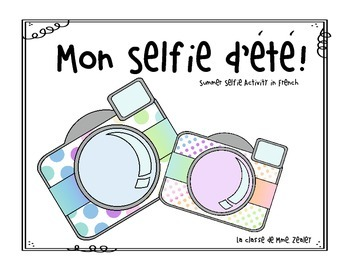"""Mon """"Selfie"""" d'été"""