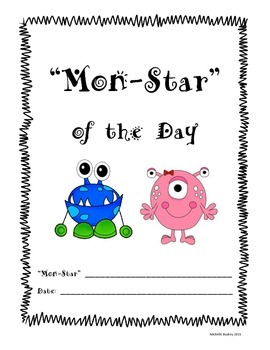 Mon-Star of the Day Class Book