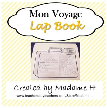 Mon Voyage Lap Book
