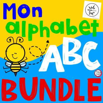 FRENCH BOOM CARDS • Mon alphabet BUNDLE
