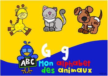 Alphabet Des Animaux french boom cards • mon alphabet des animauxpeg swift french