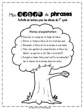 Mon arbre de phrases