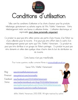 Mon autobiographie - Dossier interactif (Autobiography Lapbook in French)