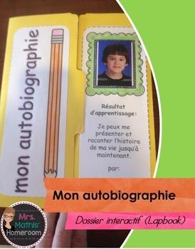 Mon autobiographie - Dossier interactif (Autobiography Lap