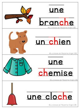 French Phonics Activities: Mon cahier des sons {ch}