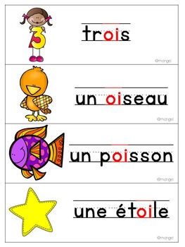 French Phonics Activities: Mon cahier des sons {oi}