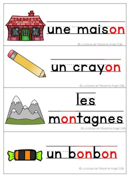 French Phonics Activities: Mon cahier des sons {on}