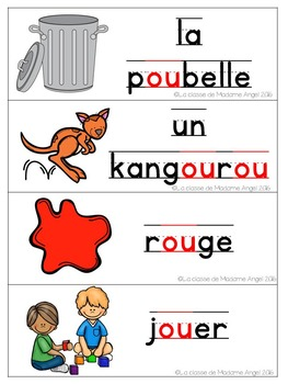 French Phonics Activities: Mon cahier des sons {ou}
