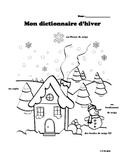 Mon dictionnaire de l'hiver