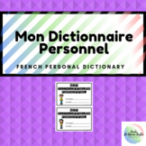 Mon dictionnaire personnel (French personal dictionary)