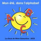 Mon été, dans l'alphabet - A Back to School illustrated wr