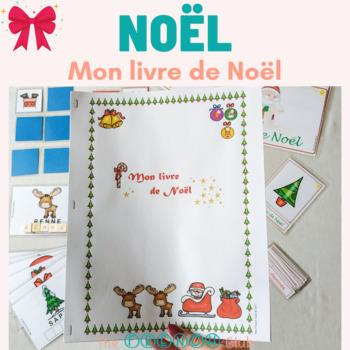 Mon livre de Noël illustré - French Christmas Book with images