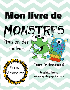 Mon livre de monstres
