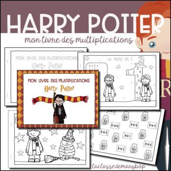 Mon livre des multiplications - Harry Potter