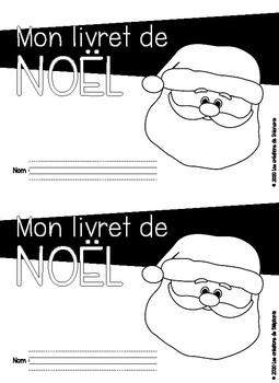 Mon livret de Noël