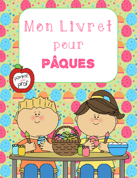 Mon livret pour Pâques (My Book for Easter) - French Emergent Reader