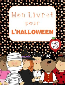 Mon livret pour l'Halloween (My Book for Halloween) - French Emergent Reader