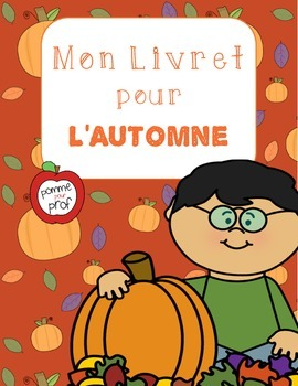 Mon livret pour l'automne (My Book for Fall) - French Emergent Reader