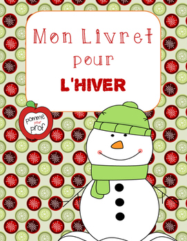 Mon livret pour l'hiver (My Book for Winter) - French Emergent Reader