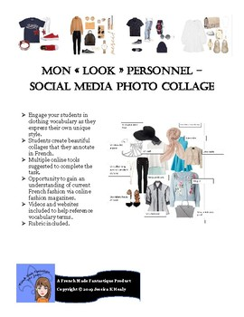 """Mon """"look"""" personnel - social media photo collage"""