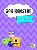 Mon monstre: FSL French Unit Plan
