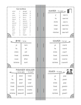 Mon petit livret de conjugaisons (My Little Book of Conjugations) - B&W Version