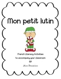 """Mon petit lutin"" activité de Noël/ French Christmas Elf Activity"