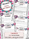 Mon poème - C'est la Saint-Valentin !