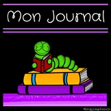 Mon premier journal d'ecriture // French primary journal