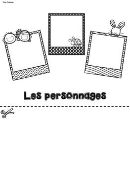 Mon rapport de livre - FRENCH Flip-Book - Grades 1&2