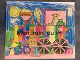 Mon train du G - FRENCH - Phonic Student Work Booklet - Grade 1