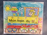 Mon train du M - FRENCH - Phonic Student Work Booklet - Grade 1
