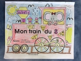 Mon train du S - FRENCH - Phonic Student Work Booklet - Grade 1