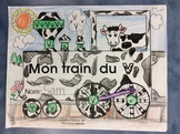 Mon train du V - FRENCH - Phonic Student Work Booklet - Grade 1