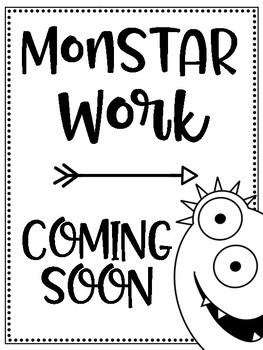 MonSTAR Work Coming Soon