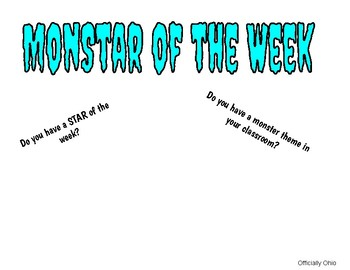 MonStar of the Week
