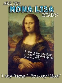 Mona Lisa Behavior Sign