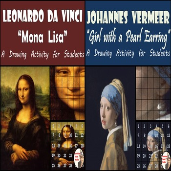 Mona Lisa & Girl with a Pearl Earring - Two Painting Recreations