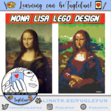 Mona Lisa Lego Collaborative Mural Design and Whole Body Listening Lesson