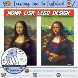 Mona Lisa Lego Collaborative Mural Design and Whole Body L