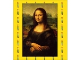 Selfie drawings and Mona Lisa