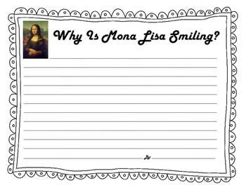 Mona Lisa Writing and Craft