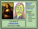 Mona Lisa Zombie Guided Drawing Activity Kit