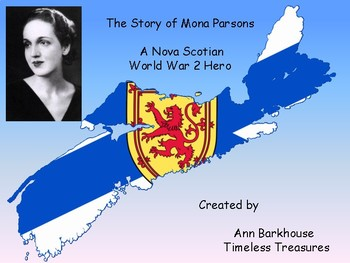 Mona Parsons- Our Nova Scotia February Holiday Tribute 2018