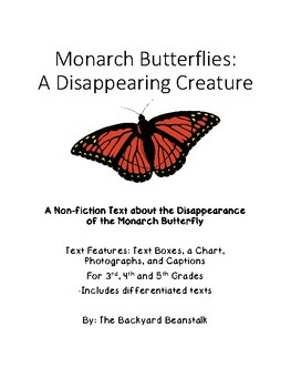 Monarch Butterflies: A Disappearing Creature